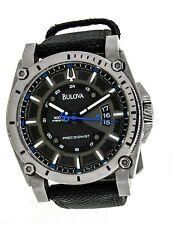Men's Bulova Precisionist C877659 300M Titanium Black Face Watch