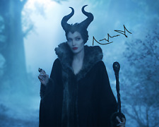 Maleficent signed Angelina Jolie 8X10 photo picture poster autograph RP
