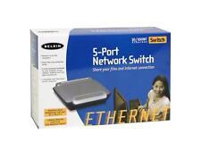 BELKIN F5D5131-5 5-Port 10/100Mbps Network Switch New in Box