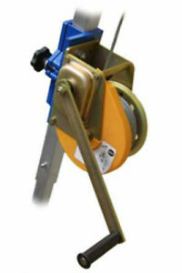 Height Safety Auminium Tripod Hand Winch 20mtr Belts/ Harnesses/ Lanyards