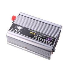 K7750 DOXIN 500W (max) WATT DC 12V to 220V portable AC car Inverter Charger conv