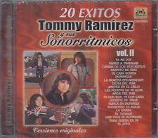 Tommy Ramirez y sus Sonorritmicos 20 Exitos Vol 2 CD New Nuevo sealed