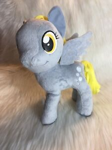 NWT My Little Pony Magic Derpy Hooves Pegasus Plush Muffins Bubbles Gray 12""