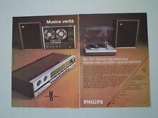 advertising Pubblicità 1972 PHILIPS RH 720