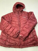 Womens COLUMBIA TITANIUM Omni Heat 3D Insulated Snow Country Puffer Jacket Sz XL