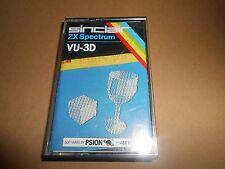 Spectrum 48K Cassette VU-3D Software by Psion