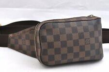 Authentic Louis Vuitton Damier Geronimos Shoulder Bag Body Bag N51994 LV 95853