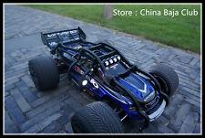 rc car frame 1/10 traxxas e-revo car shell roll cage and wheelie bar