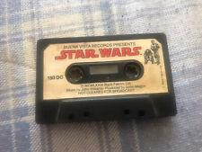 Star Wars Audiobook Casette Tape Vintage 1979