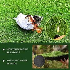 Artificial Green Grass Rug Landscape Decorative for Pet Dog Area,2cm 3x5ft