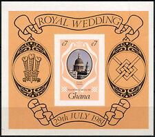 Ghana 1981 SG#MS951 Royal Wedding MNH Imperf M/S #R118