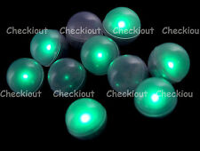 48 LED Teal Green Mini Fairy Lights Waterproof Floating Ball Party Wedding Decor
