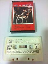 THE BEATLES - CINTA TAPE CASSETTE - STAR LINE - SPANISH EDITION 1984 PAPER LABEL