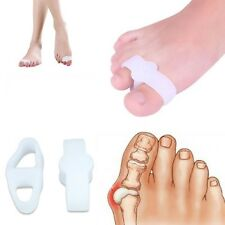 Double Toe Straightener | Double Looped Toe Gel Orthotics Stretcher, Protector