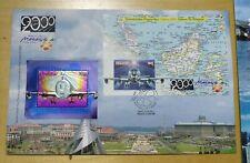 Royal Selangor Pewter Niobium Stamp Private FDC Millennium 2000 plane Stamp FDC