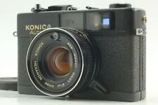 【EXC+5】KONICA Auto S3 35mm Rangefinder  Camera Black with 38mm F/1.8  from Japan