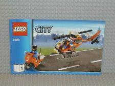 LEGO® City Bauanleitung 7686 Helicopter Transporter Heft 1 instruction B2313