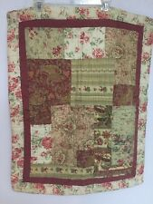 COTTAGE QUILTED Florals & Paisley PEM AMERICA PILLOW SHAMS 20X26 +2 STANDARD