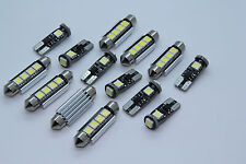 BMW E46 Saloon + Coupe + M3 FULL LED Interior Lights 14pcs SMD Bulbs White GR
