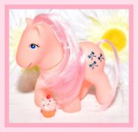 ❤️Vtg My Little Pony Phony Fake Fakie Clone First Tooth Baby Pink Bows❤️