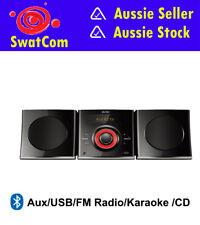 DGTEC DVD Mini Hifi System 30W/Bluetooth/USB/AUX/FM Radio/Karaoke/CD to USB Rec