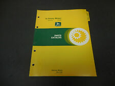 1979 John Deere Parts Catalog No.Pc-1197 19 Rotary Mower Ser# -150,000, 22 Pages