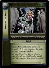 LoTR TCG TTT The Two Towers Impatient and Angry 4R307 x2
