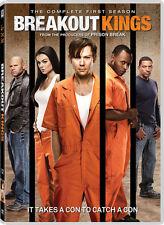 Breakout Kings . The Complete Season One . 1. Staffel . Prison Break . 4 DVD NEU
