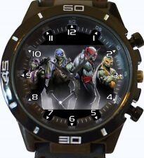Reloj Pulsera tortugas Ninja Nueva Serie GT Deportes Unisex Regalo