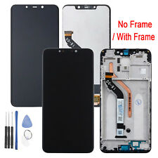 Replacement LCD Screen + Touch Screen Digitizer + Frame for Xiaomi Pocophone F1