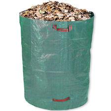 Schramm® Gartensack 120 Liter Grün Robusten Polypropylen Gewebe Gartensäcke
