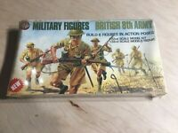Airfix Military 1/32 Scale Plastic Model Figures British 8th Army NIB