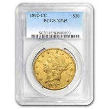 1892-CC $20 Liberty Gold Double Eagle XF-45 PCGS