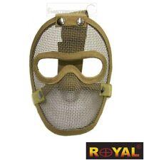 MASCHERA DI PROTEZIONE ROYAL PLUS TACTICAL FULL FACE TAN (KR003T)
