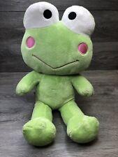 "Build A Bear Keroppi Frog Plush Green Stuffed Animal Toy 17"" Hello Kitty"