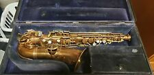 Saxophone, Frank Holton, 1915, Elkhorn, Wisconsin  #31431
