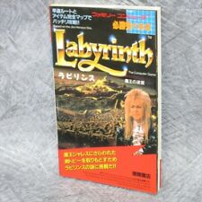 LABYRINTH Guide Famicom 1987 Book TK