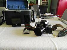 Nikon F2 con set (obbiettivo Nikkor 50mmf14-Vivitar 200mm-custodie) A- MINT
