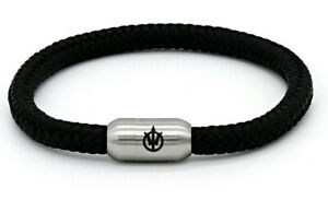 Poseidon Armband HUBERT Segeltau Segelseil 6mm Edelstahl Magnetverschluss Gravur