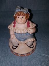 Vintage 1983 Circus Royale Wallace Berrie & Company Fat Lady Porcelain Figurine