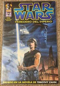 STAR WARS Heir to the Empire #1 | Admiral THRAWN! | Spanish Edition | Mara JADE!