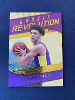 Lonzo Ball 2017-18 Panini Revolution Rookie Card RC #7 LA Los Angeles Lakers NBA