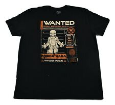Funko Pop Mens Star Wars Ponda Baba Wanted Shirt Look L, XL, 2XL, 3XL