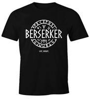 Herren T-Shirt Berserker For Honor Wikinger Runen Vikings Mode Fashion