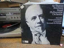 sir thomas Beecham - Elgar - enigma variations - Cockaigne -  CBS 61660