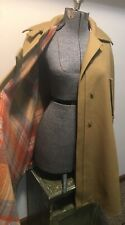 Vintage 100% Wool Cape Coat ~  Union Label ~by Bill Atkinson Glen Of Michigan S?