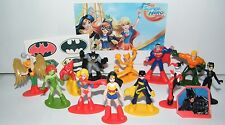 DC Super Hero Girls Party Favors Set of 14 Deluxe with Figures, Tattoos and Ring