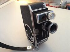 Bolex Paillard C8SL Movie Camera with Case - Mint Condition