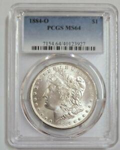 1884-O USA MORGAN SILVER DOLLAR $1 PCGS MS64