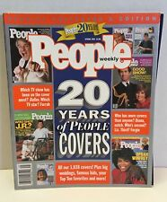 Special Collectors Edition Magazine 20 YEARS OF PEOPLE COVERS 1994-2004 ALL 1038